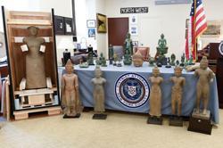 United States returns 27 stolen antiquities to Cambodia