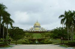 PBS president Ongkili leaves Istana Negara after audience with King