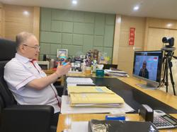 Dr Wee holds first video call with Singapore's Transport Minister
