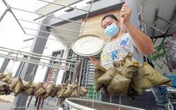 Dumpling-making lessons during pandemic