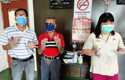 Visually-impaired eager to be vaccinated