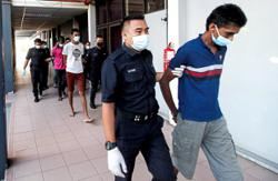 Five charged with murder in Ipoh
