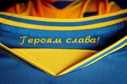 Ukraine reaches compromise with UEFA on soccer jersey slogan