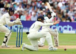 Cricket-Conway and Young put NZ in charge against England at Edgbaston