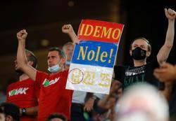 Tennis-Fans rock Roland Garros for Nadal-Djokovic epic as curfew relaxed