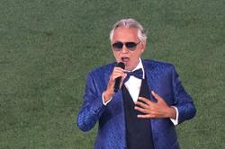 Bocelli launches Euro 2020 with a rousing version of 'Nessun Dorma'