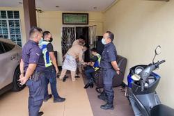 Penang cops stop wedding reception being held during lockdown