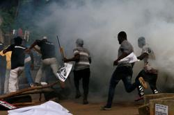 Nigerian police fire teargas to break up protests over rising insecurity