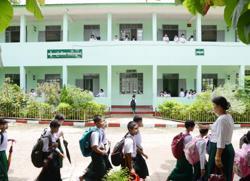 Most schools reopen across Myanmar