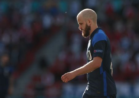Soccer-Pukki says Denmark game among most difficult of career after Eriksen scare