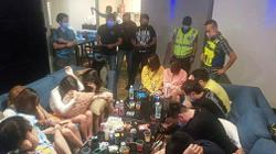 Cops turn tables on revellers in drug-fuelled party for a doctor
