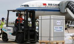 Cambodia receives new batch of China's Sinopharm Covid-19 vaccine