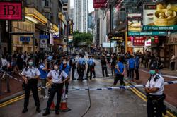 Hong Kong police arrests at least three on anniversary of 2019 protest
