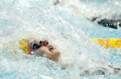 Olympics-Record breaking day two at Australia's Tokyo swim offs
