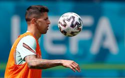 Soccer-Portugal's Cancelo out of Euros due to COVID, replaced by Dalot