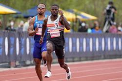 Athletics-After remarkable recovery, Bromell keeps the faith at U.S. Olympic trials