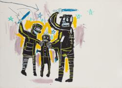 Never-exhibited works by Jean-Michel Basquiat to go on show in New York