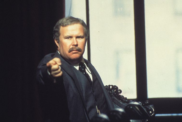 Beatty received an Oscar nomination as supporting actor for his role as corporate executive Arthur Jensen in 1976′s 'Network'.