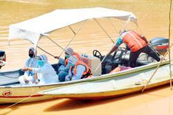 Medical team braves swift currents