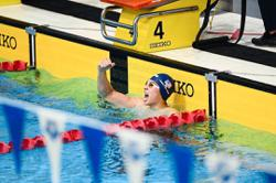 Hoe Yean's unstoppable in the pool as he breaks national record again