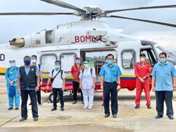 Medical team handling situation at Long Lamai