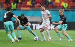 Soccer-Evergreen Pandev scores North Macedonia's first major tournament goal