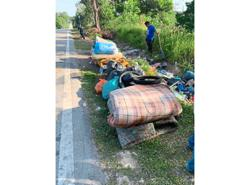 Village council takes on rubbish collection task to keep area clean