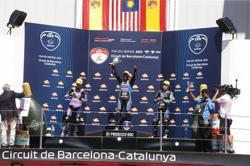 Maiden win for M'sian Moto3 rider Syarifuddin on Spanish soil