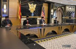 King holds virtual audience with Sarawak's GPS leaders
