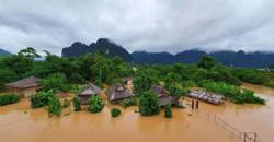 Laos suffers widespread flooding in wake of tropical storm Koguma