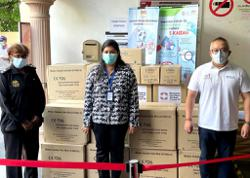 Rela donates PPE to medical frontliners