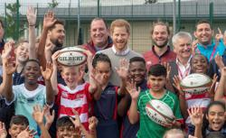Rugby-RFU to reduce tackle height in junior games for player welfare