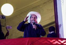 A divided Peru waits for next president as vote count nears completion