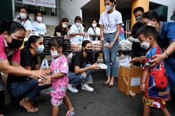 Thai officials say Covid-19 vaccine shortage under control as cases keep surging and total now almost 200,000