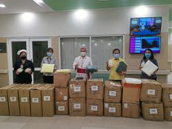 Church donates PPE to state general hospital