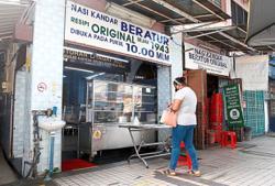 Nasi kandar shop hopes situation will improve soon