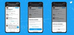 Soon you will be able to subscribe to newsletters directly via Twitter