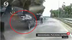 Why are you fleeing police roadblock, bro?