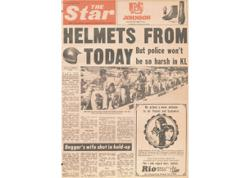 Flashback #Star50: Helmets from today