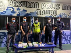 Marine cops seize drugs worth RM200,000 in Tawau operation