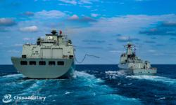 China's newly commissioned PLA destroyer makes exercise debut in South China Sea