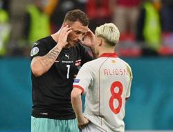 Soccer-North Macedonia ask UEFA to investigate Arnautovic's goal celebration