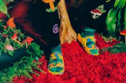 Grammy-winning DJ Diplo puts his own spin on a well-recognised footwear