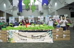 Durian products treat for frontliners at MAEPS