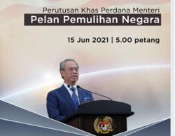 PM to deliver special address on National Recovery Plan at 5pm today (June 15)