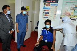 Vaccination capacity in Sabah to reach 30,000 per day in July