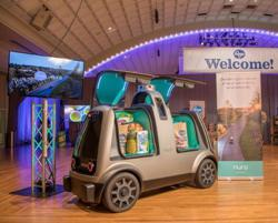 FedEx to test package deliveries with self-driving startup Nuro