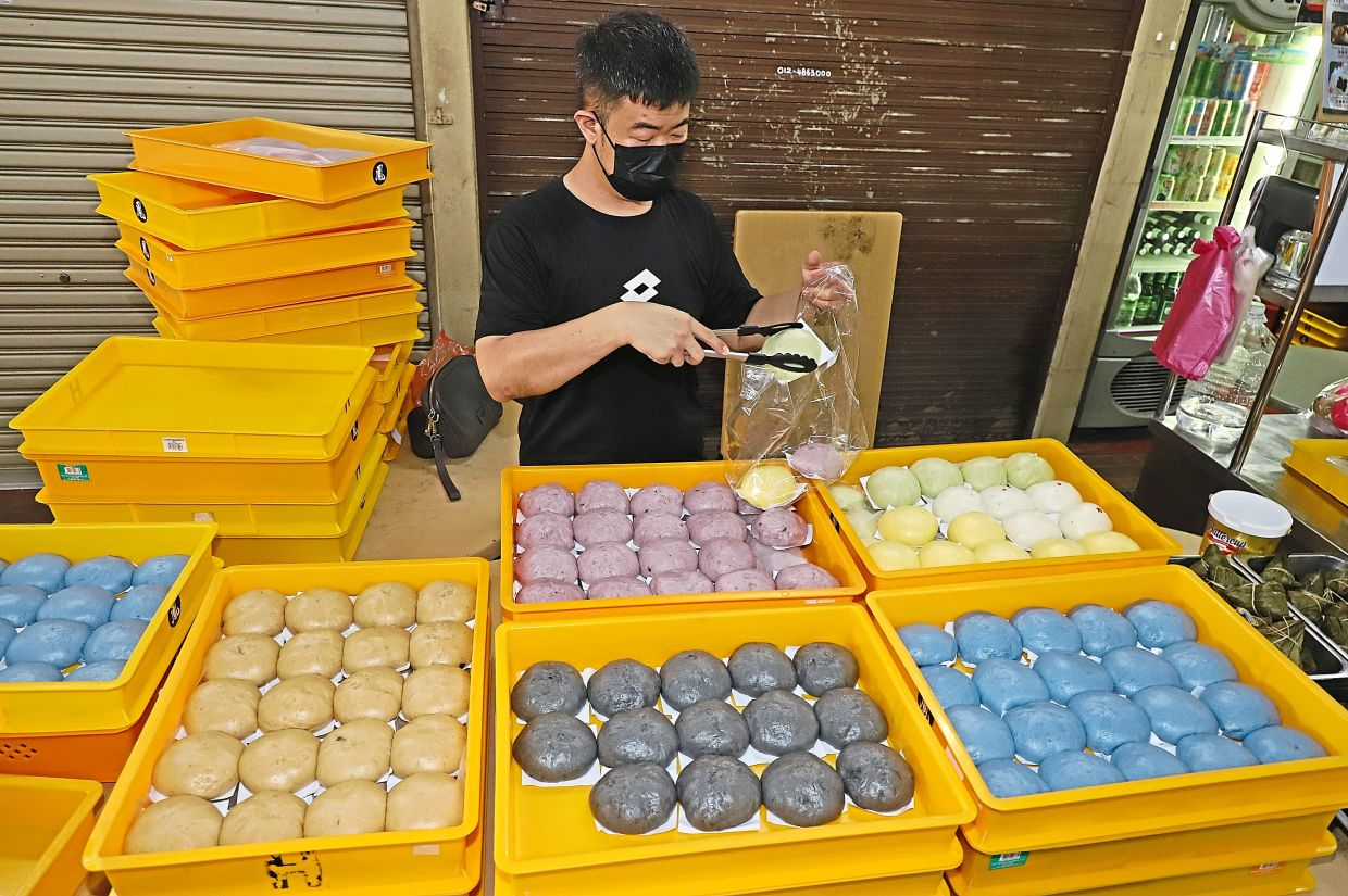 Goh says business has improved since the hawkers there started offering pick-up service and an online platform for people to place orders.