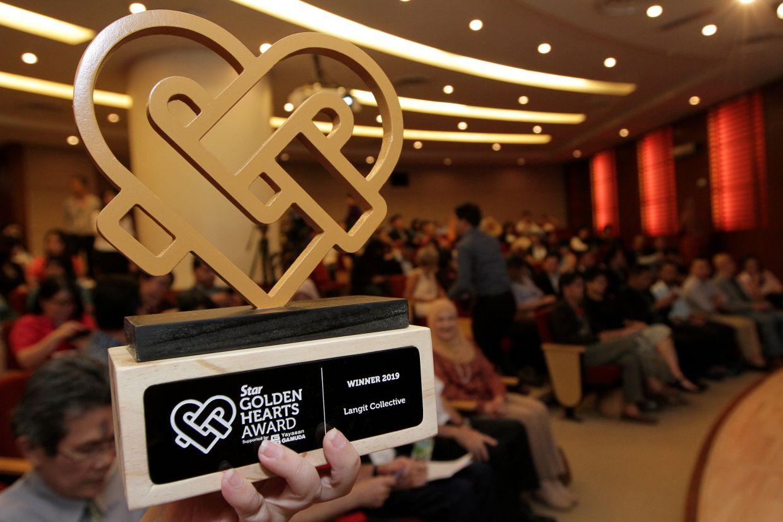 Star Golden Hearts Award 2019 awards presentation ceremony.