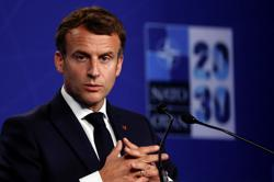 France's Macron calls for European tech company push by 2030